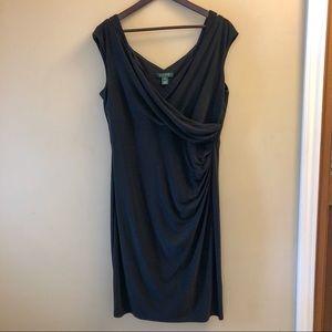 Lauren Ralph Lauren Side Ruched Dress